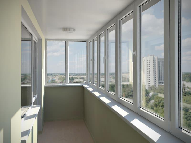 Балкон остекление под ключ цена последний этаж остекление балкона